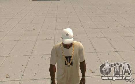 Casquette Kappa pour GTA San Andreas deuxième écran