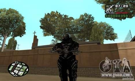 Alex Mercer v2 für GTA San Andreas her Screenshot