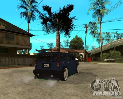 AMG H2 HUMMER Jvt HARD exclusive TUNING pour GTA San Andreas