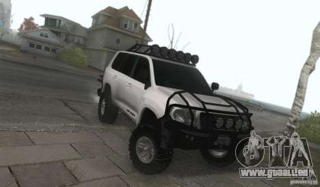 Toyota Land Cruiser 200 Off Road v1.0 pour GTA San Andreas