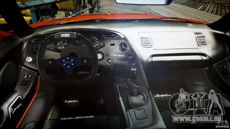 Toyota Supra MK4 Tunable v1.0 für GTA 4 rechte Ansicht