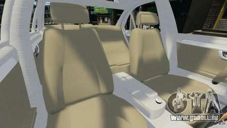 Mercedes-Benz C350 Avantgarde v2.0 für GTA 4 Innenansicht