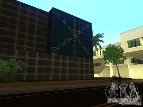 Immeuble neuf dans LS pour GTA San Andreas quatrième écran