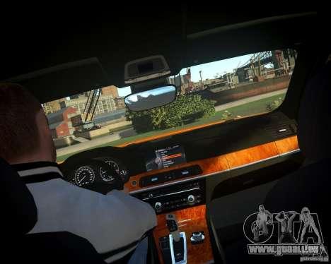 BMW 750Li  2010 für GTA 4 Seitenansicht