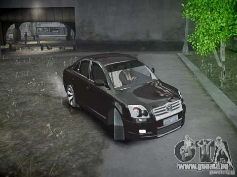 Toyota Avensis für GTA 4 Seitenansicht