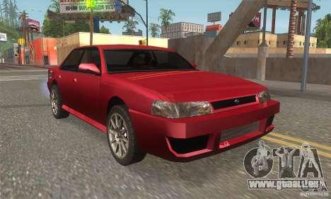 New Sultan HD für GTA San Andreas Rückansicht