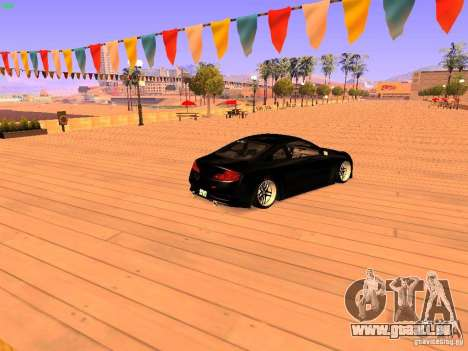 Infiniti G35 V.I.P pour GTA San Andreas laissé vue