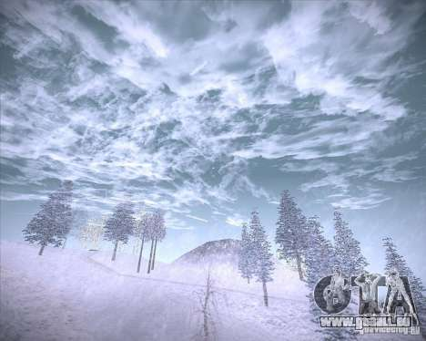 Real Clouds HD für GTA San Andreas sechsten Screenshot