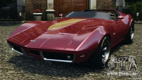 Chevrolet Corvette Sting Ray 1970 Custom für GTA 4