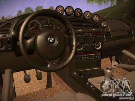 BMW M3 E36 pour GTA San Andreas vue de droite