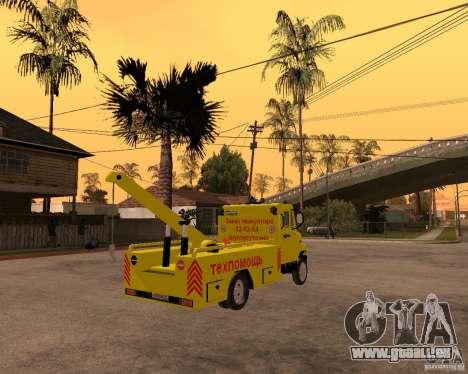 ZIL 5301 Stier Schlepper für GTA San Andreas zurück linke Ansicht