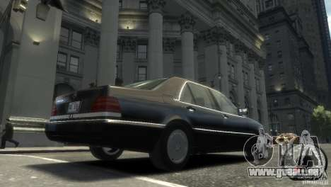 Mercedes-Benz 600SEL wheel2 non-tinted für GTA 4 hinten links Ansicht