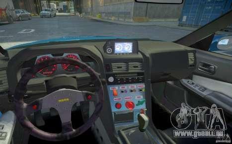 Nissan Skyline GT-R R34 Fast and Furious 4 pour GTA 4 est une vue de dessous