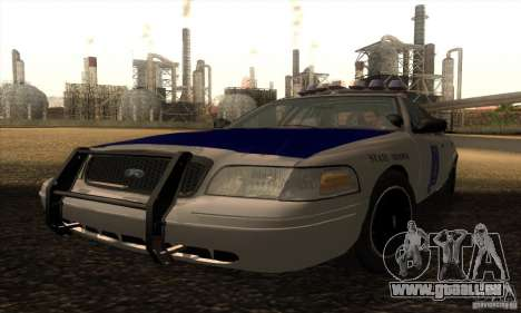Ford Crown Alabama Police pour GTA San Andreas