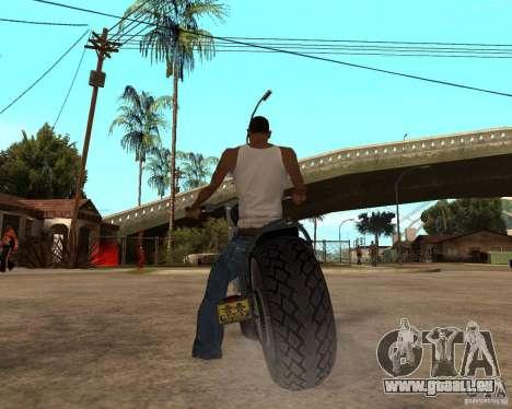 Diabolus Bike pour GTA San Andreas vue de droite