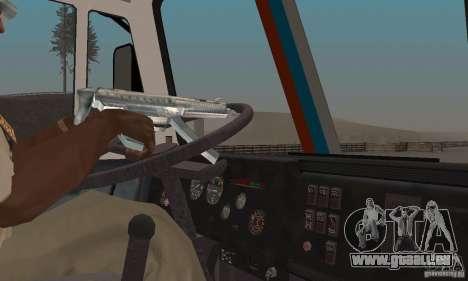 KAMAZ-54112 Secrétariat pour GTA San Andreas vue arrière