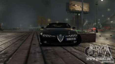 Alfa Romeo Brera Italia Independent 2009 v1.1 pour GTA 4 Vue arrière de la gauche