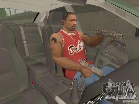 Frein à main pour GTA San Andreas deuxième écran
