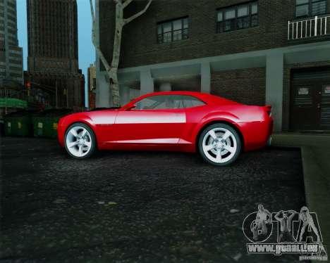 Chevrolet Camaro 2007 für GTA San Andreas rechten Ansicht
