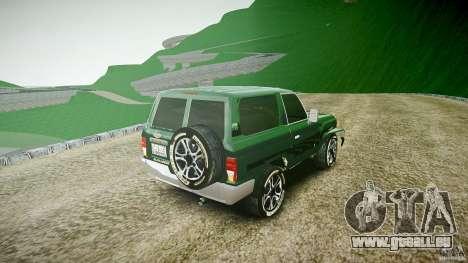 Toyota Land Cruiser 4.5 V2 pour GTA 4 est un côté