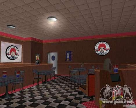 Neue Texturen von Restaurants und Geschäften für GTA San Andreas