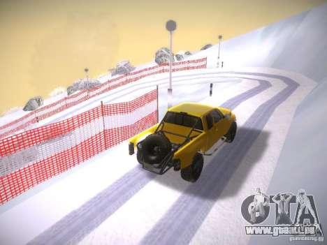 Dodge Ram Prerunner pour GTA San Andreas vue intérieure