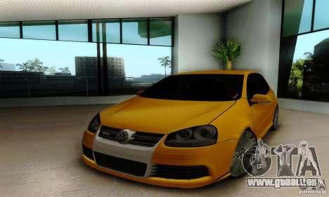 Volkswagen Golf R32 für GTA San Andreas