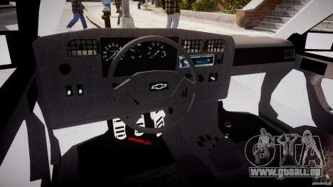 Chevrolet Monza GLS 96 pour GTA 4 est un droit