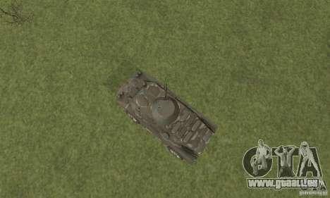 BRDM-2 Winterversion für GTA San Andreas Rückansicht