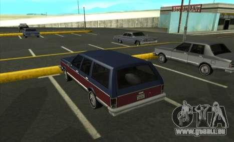 New Regina pour GTA San Andreas laissé vue
