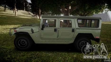 Hummer H1 Original für GTA 4 linke Ansicht