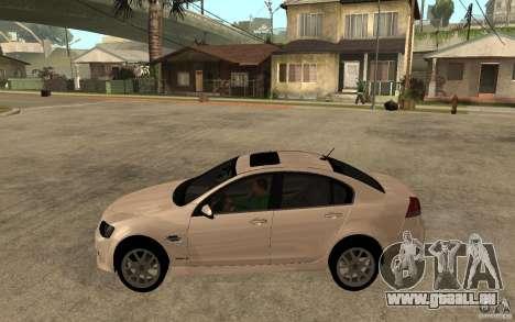 Chevrolet Lumina 2010 pour GTA San Andreas laissé vue