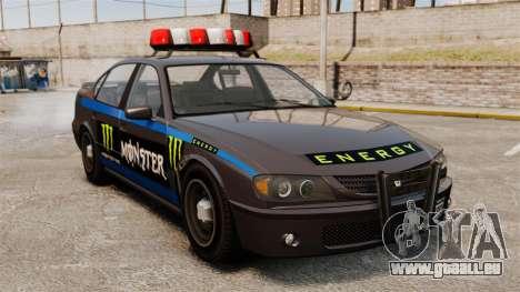 Polizei-Monster-Energie für GTA 4 linke Ansicht