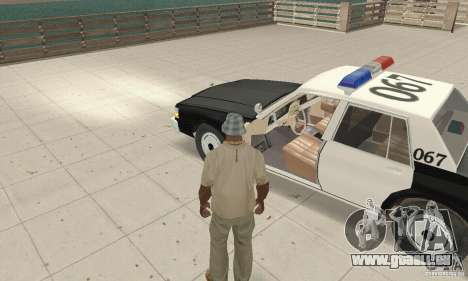Chevrolet Caprice Interceptor 1986 Police pour GTA San Andreas vue arrière