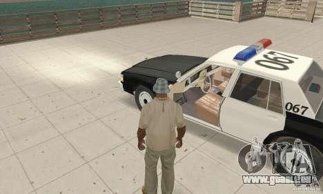 Chevrolet Caprice Interceptor 1986 Police für GTA San Andreas Rückansicht