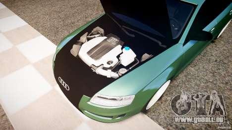 Audi RS6 2009 pour GTA 4 Vue arrière