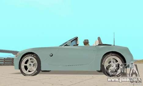 BMW Z4 Roadster 2006 pour GTA San Andreas vue de droite