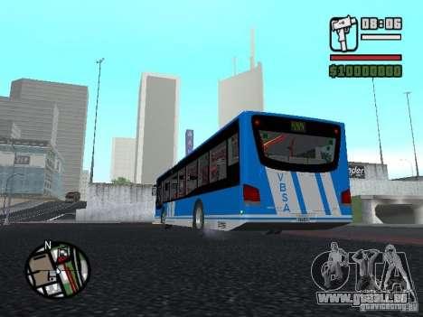 Design-X4-Dreamer pour GTA San Andreas sur la vue arrière gauche