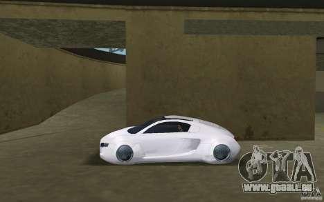 Audi RSQ concept pour une vue GTA Vice City de la gauche