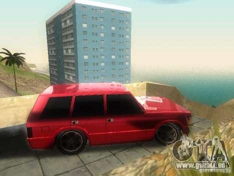 New Huntley pour GTA San Andreas laissé vue