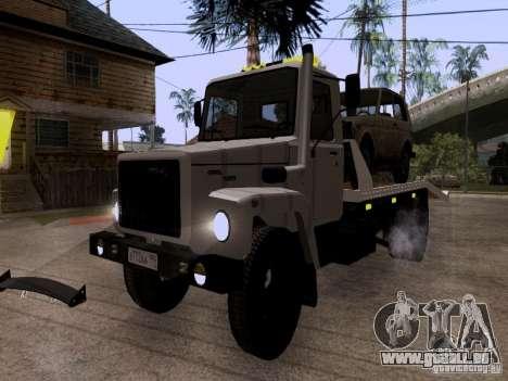 GAZ 3309 Abschleppwagen für GTA San Andreas