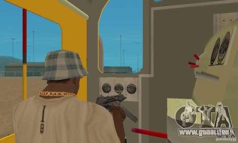 RS3 Diesel Lokomotive Union Pacific für GTA San Andreas rechten Ansicht