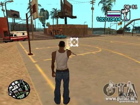 HUD by Hot Shot v2.1 pour GTA San Andreas troisième écran