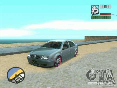 VW Bora Tuned für GTA San Andreas
