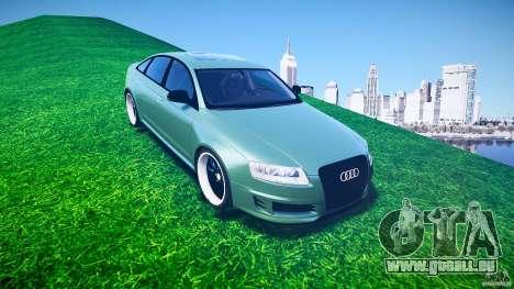 Audi RS6 2009 pour GTA 4 est un côté