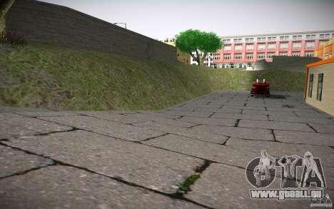Service d'incendie de HD pour GTA San Andreas sixième écran