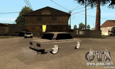 Lada VAZ 2107 LT pour GTA San Andreas vue de droite