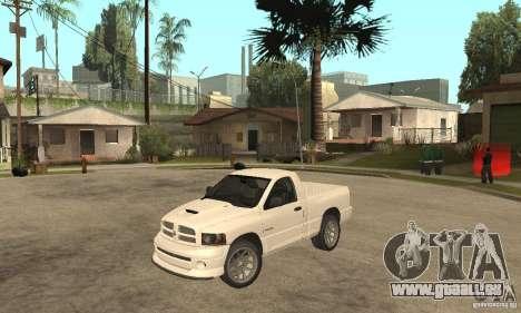 Dodge Ram SRT 10 für GTA San Andreas