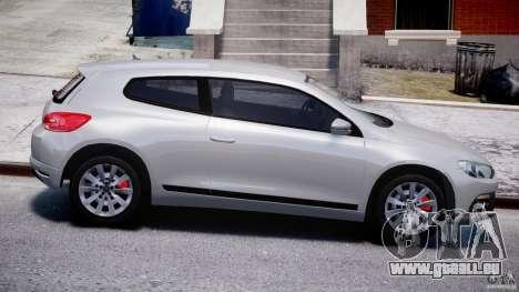 Volkswagen Scirocco III 2008 für GTA 4 Seitenansicht