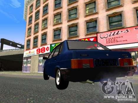 VAZ 21099 pour GTA San Andreas vue de droite
